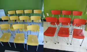 17 CHAIRS - Preschool/Daycare - ***PRICE DROP $10 PER CHAIR*** West Island Greater Montréal image 1