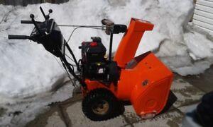 "snow blower 24"" Ariens"