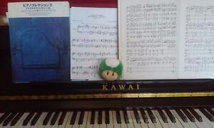 Cours de piano/Piano lessons! (Classical,Video games, film!)