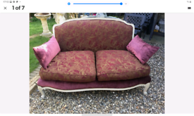 Gorgeous immaculate Laura Ashley french sofa