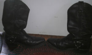 size 8 1/2 Harley boots