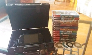 Psp with case and games
