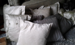 Pillows and Queen size comforter