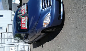 2007 Chrysler PT Cruiser blue Hatchback