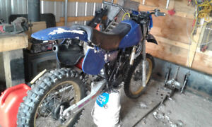 Looking for a parts bike 1982 yz250