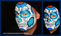 Face & Body Painting Creative Works By Christine Turpin