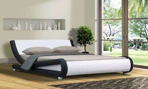 Brand new queen size bed frame in pu leather for sale Highgate Hill Brisbane South West Preview