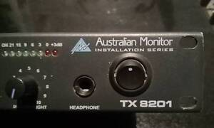 Australian Monitor TX8201 Rackmount/Desktop pro mixer. RRP $449 Eden Hills Mitcham Area Preview
