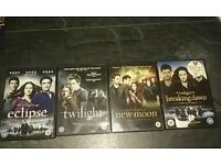 4 set DVD twilight