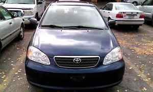 2008 TOYOTA COROLLA SE,WITH SUN ROOF,