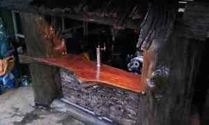 Handmade timber waterfall bar, every man cave needs this! Newcastle Newcastle Area Preview