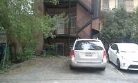 Parking Spot -3 min walk from McGill