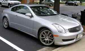 2003 or Higher Infiniti G35 Coupe (No accidents or liens)