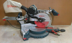 BOSCH 10'' DUAL BEVEL SLIDING COMPOUND MITER SAW