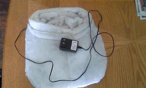Furry Foot Massage Unit (Shiatsu and heat)