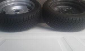 PRIUS WINTER TIRES WITH RIMS  UNUSED - Absolutely Brand New! (4)