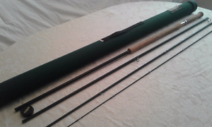 Doubled Handed Fly Rod Excellent Condition