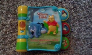 Whinnie the Pooh vtech electronic book