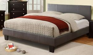 LORD SELKIRK FURNITURE★ VOLT BROWN DOUBLE OR QUEEN ★ 26 SLATS