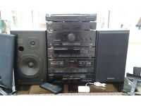 Technics stacking stereo