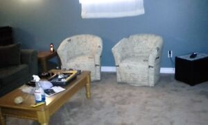 Two chairs - like new