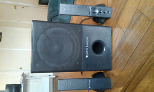 2.1 channel computer speakers