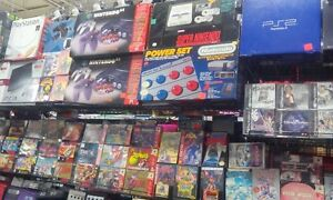 We sell N64,Nes and Super nintendo consoles complete in box.