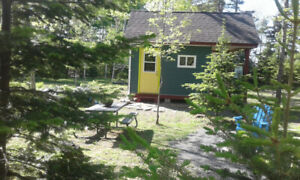 $69/NT TRANQUIL TINY HOUSE-CAMPFIRE,TRAILS,EATERIES-TATAMAGOUCHE