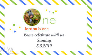 Personalize your kid's Picture in Birthday card/Banners ...