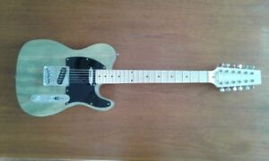 12 String Telecaster Style Electric Guitar