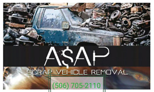 $$$ Scrap/Parts Vehicle removal $$$