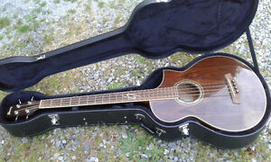 Ibanez bass with case