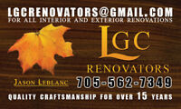 Free Estimates on All Exterior and Interior Renovations