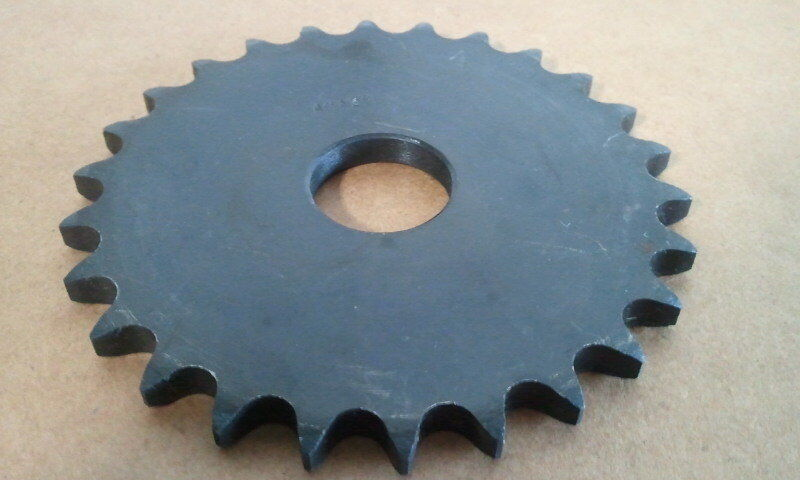 "40A26  FLAT PLATE ""A"" SPROCKET #40 CHAIN 26 TOOTH 1"" STOCK BORE"