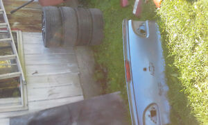 Cavalier body parts,  2 back bumper, Trunk and front bumper Cornwall Ontario image 2