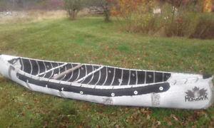 Mohawk Aluminum Canoe Faux Wood style