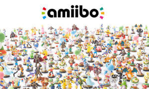 VARIOUS BNIB SUPER SMASH BROS. AMIIBO (WII-U, ULTIMATE)