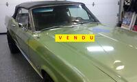 *VENDU* 1967 FORD MUSTANG DÉCAPOTABLE (1 de 100 produit)