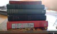 various old books