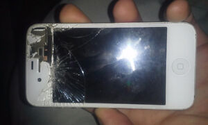 broken iphone 4s