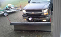 "7'6"" Frontline Snow Plow For Sale"