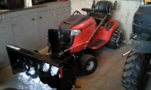 Troy-Bilt snowblower/lawnmower combo