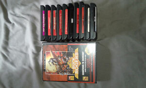 Sega Genesis Game Lot with Console