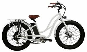Trillium Fat Tire Step Through Electric Bicycle