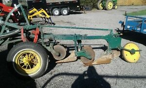 trail plow and rotary cutter