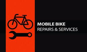 MOBILE BICYCLE REPAIR SHOP - Bicycles & BMX BIKES..MORE
