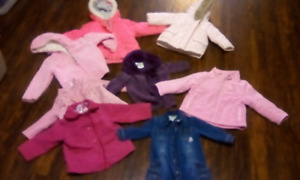 Girls coats $10 for all pick up Caledonia