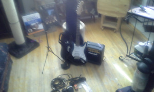 Marshall Electric Guitar w/ Amp & Accessories $190