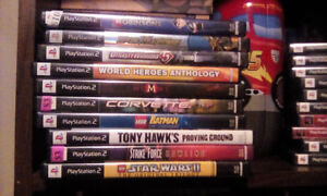 10 various PS2 games ...working condition