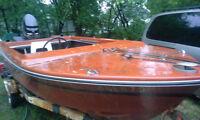 Boat, traier, & 65hp merc